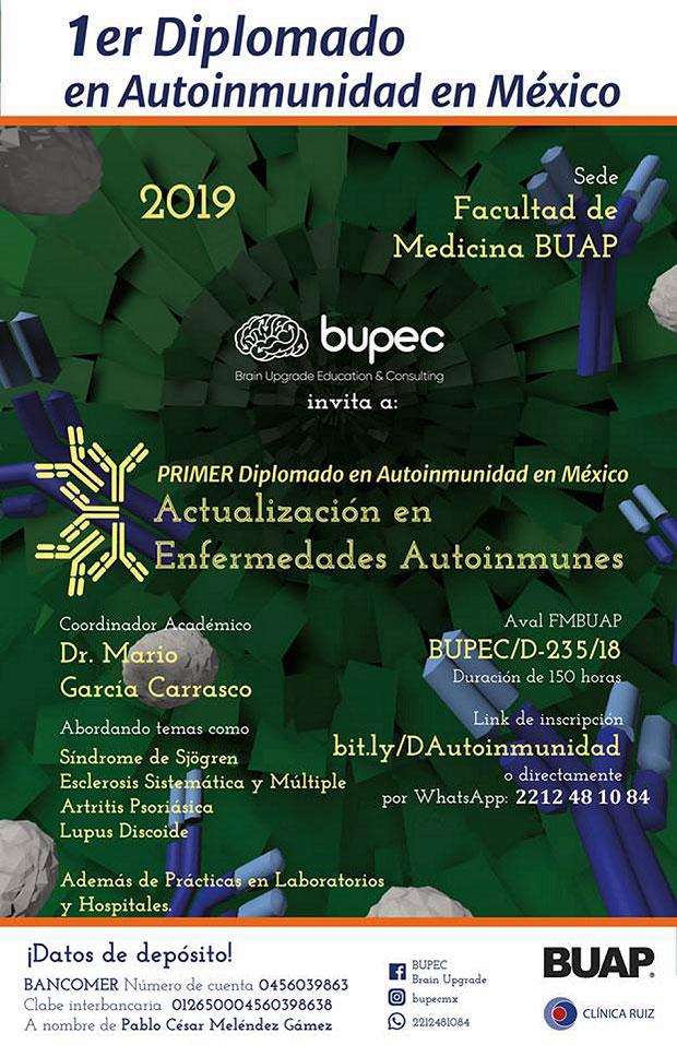 Medicina de BUAP ofrece diplomado sobre enfermedades autoinmunes