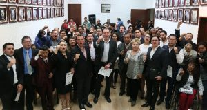 Isabel Merlo toma protesta a integrantes de Fundación Colosio