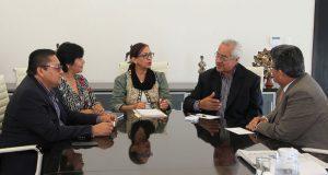 Pacheco y bancada del PRI hablan sobre infraestructura carretera