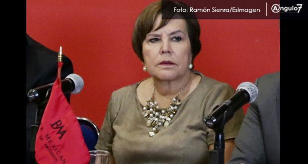 Incluyen a la poblana Patricia Olamendi en terna para dirigir Inmujeres