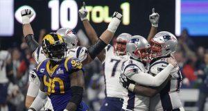 Continúa la dinastía de Patriots; vence a Rams en el Súper Bowl