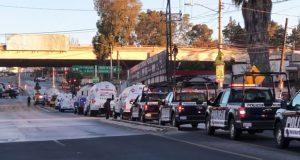 En Totimehuacán, Ssptm asegura convoy de pipas con gas ilícito
