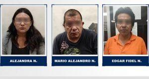 Procesan a mujer y 2 hombres por asalto a casa en Castillotla. Foto: Especial