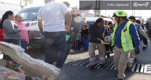 Ruta 64B arrolla a 6 menores y mujer en escuela de Barranca Honda