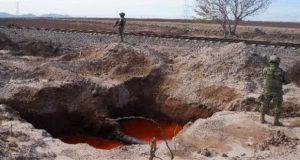 Semar aseguró 205 tomas clandestinas y 778 mil litros de huachicol