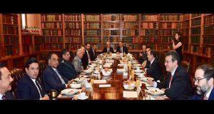 En Segob, gobernadores del PRI apoyan crear Guardia Nacional