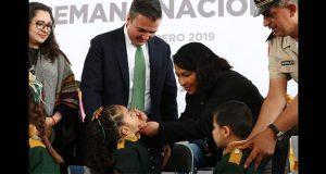 Salud aplicará 354 mil vacunas para prevenir poliomelitis