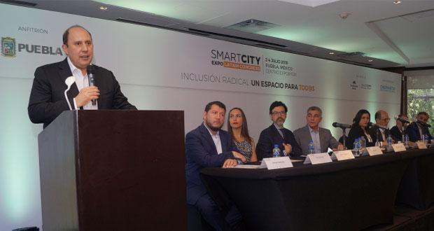 Smart City 2019, del 2 al 4 de julio en Centro Expositor, anuncian