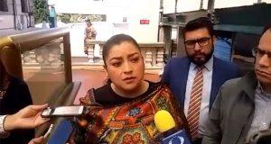 Afirma Claudia Rivera que no dará línea sobre candidato de Morena