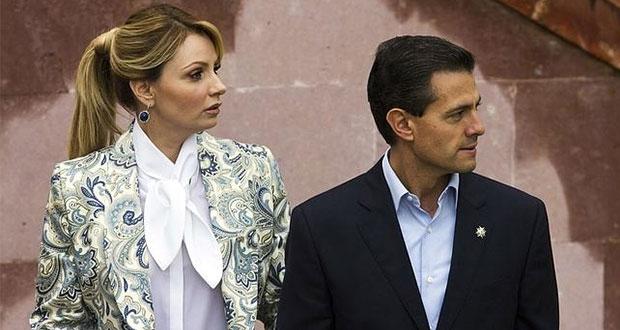 Angélica Rivera confirma que está divorciándose de Peña Nieta