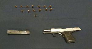Aprehenden a mujer por portar arma sin permiso en Centro Histórico