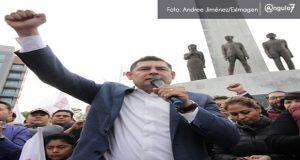 """En arranque de precampaña, Armenta anuncia la """"recuperación"""" de Puebla"""