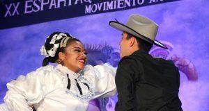 Estudiantes ganan 1er lugar de baile en Espartaqueada de Antorcha