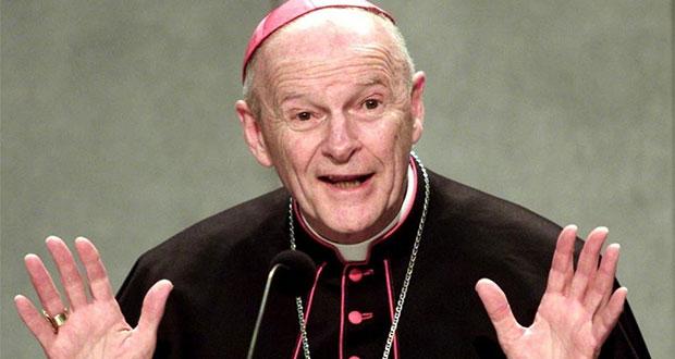 Papa Francisco expulsa a excardenal de EU por caso de violación