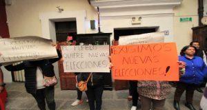 Encaran a edil por elecciones en juntas auxiliares de Cuautlacingo