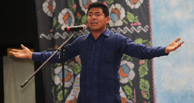 Puebla gana 1er lugar en declamación en Espartaqueada de Antorcha