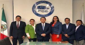 FGE y diputados se reúnen para abordar temas de seguridad
