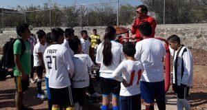 Con 14 equipos, inicia liga de futbol de Antorcha en Cuautinchán