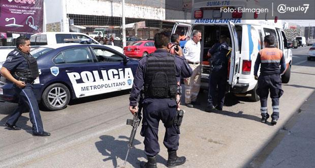 En medio de balazos, policías persiguen a sujetos en Las Ánimas; un herido