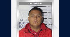 En Xonaca, aprehenden a hombre con pistola sin permiso