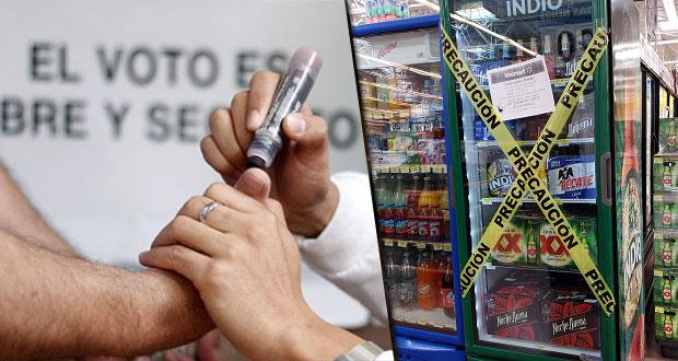 Por comicios en juntas auxiliares, habrá Ley Seca en Puebla capital