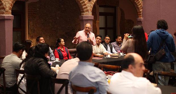 PRI debe dar resultados para que ciudadanía confíe: Lorenzo Rivera