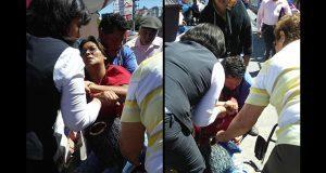 En IMSS La Margarita, mujer se desmaya en fila bajo el sol, acusan