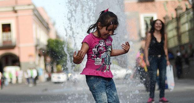 Temperatura en Puebla y 11 estados sería de 35 a 40 grados: SMN