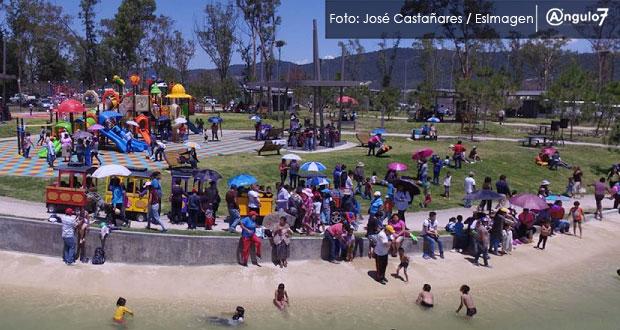 Comuna cobraría por usar canchas deportivas y baños del cerro de Amalucan