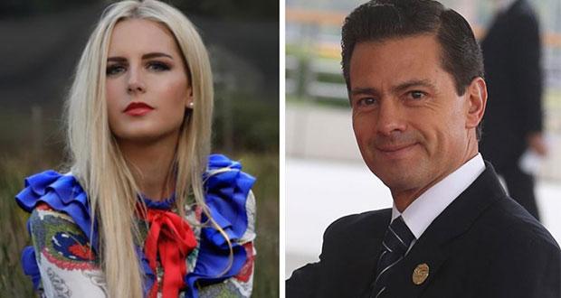 EPN aclara que no vive en España con modelo, ni lo hará
