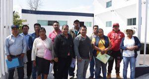 En Atlixco, registran planilla para elecciones en juntas auxiliares