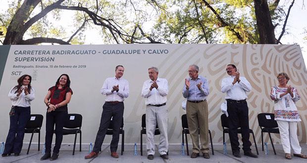 AMLO, primer presidente en 40 años en visitar Badiraguato, Sinaloa