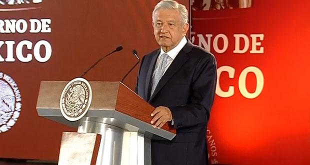 AMLO fustiga a senadores de PAN y PRI por rechazar Guardia Nacional