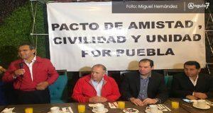 Pactan unidad aspirantes del PRI a gubernatura; enemigo a vencer es Morena