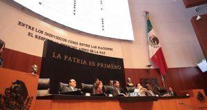 Senado pedirá a Sectur modificar spots donde resalta logo de Morena