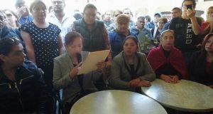 Sindicalizados contrarios a Juárez dicen que pidieron toma de nota