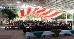 Inauguran techo para cancha del Instituto Tecnológico de Tecomatlán