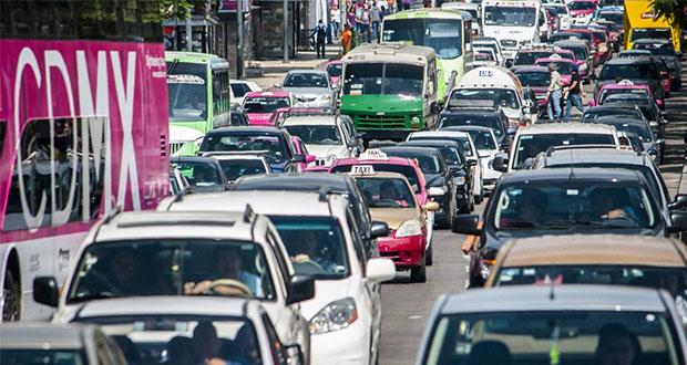 Al año, en CDMX pierden 218 horas en tráfico, en Guadalajara 181
