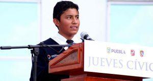 SEP Y 25 zona militar fomentan valores cívicos en alumnos poblanos