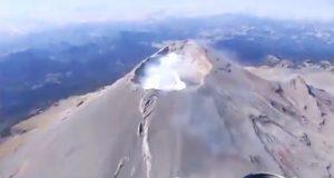Detectan domo en Popocatépetl; es normal, afirma Protección Civil