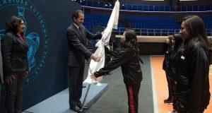 Abanderan a 291 atletas de la BUAP que van a Universiada Regional