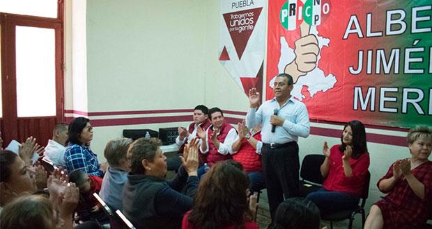 """Debe recuperarse la """"poblanidad"""" de los gobiernos, afirma Jiménez"""