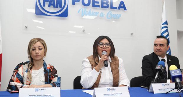 Asegura Genoveva Huerta que hay unidad a favor de Cárdenas