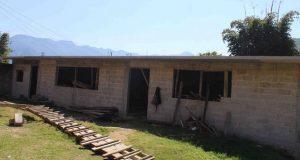 Ayuntamiento de Huitzilan de Serdán construye comedor estudiantil
