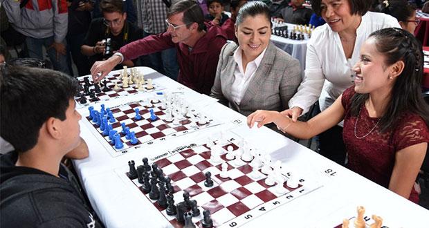 Ayuntamiento de Puebla inaugura Primer Torneo Municipal de Ajedrez