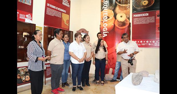 Ayuntamiento de Tepexi abre exhibición de piezas prehispánicas