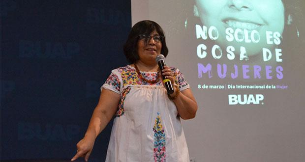 BUAP, pionera en estudios de género y derechos de la mujer, destacan