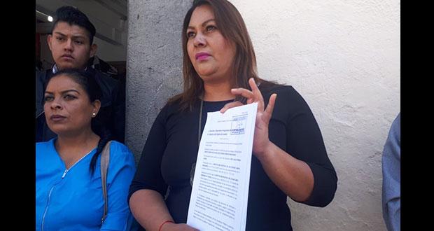 Regidora de San Pedro Cholula pide abrir juicio político contra JJ