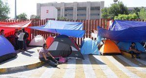 Bloqueo de la CNTE en San Lázaro aplaza nueva reforma educativa