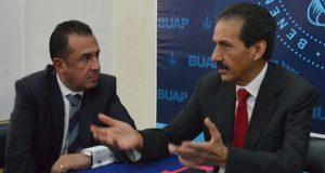 Carlos Bernal, nuevo vicerrector de difusión de cultura de la BUAP